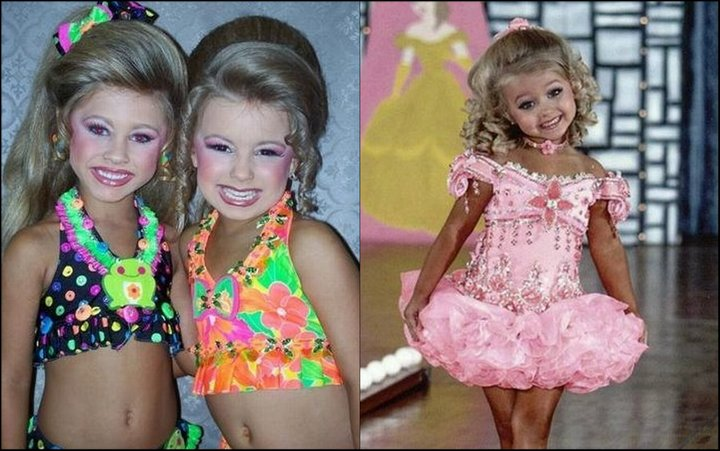 pageant girls Young